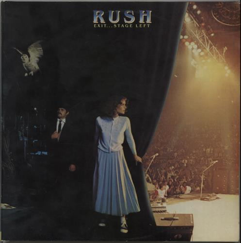 Rush Exit... Stage Left 2-LP vinyl record set (Double Album) UK RUS2LEX56700