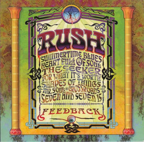 Rush Feedback CD album (CDLP) UK RUSCDFE291180