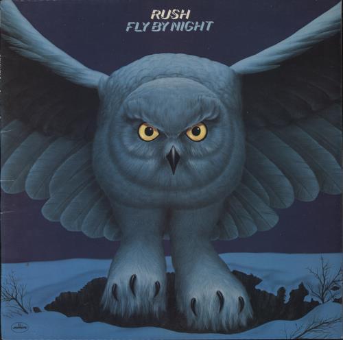Rush Fly By Night + Insert - EX vinyl LP album (LP record) UK RUSLPFL54897