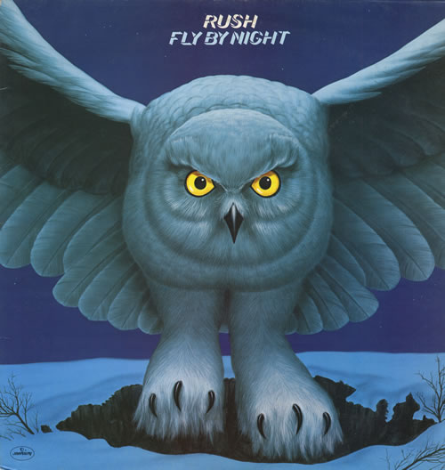 Rush Fly By Night vinyl LP album (LP record) UK RUSLPFL551553