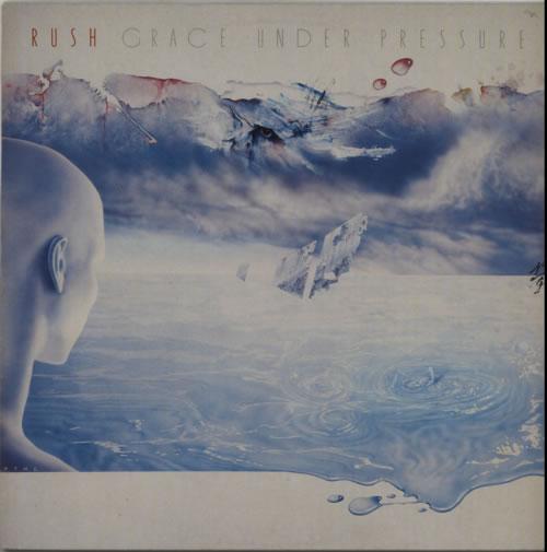 Rush Grace Under Pressure - EX vinyl LP album (LP record) UK RUSLPGR232721