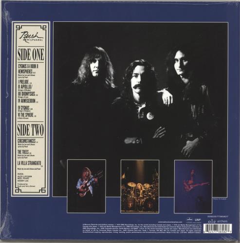 Rush Hemispheres - RSD19 - Sealed picture disc LP (vinyl picture disc album) UK RUSPDHE718421
