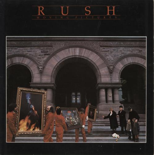 Rush Moving Pictures - EX vinyl LP album (LP record) UK RUSLPMO634791