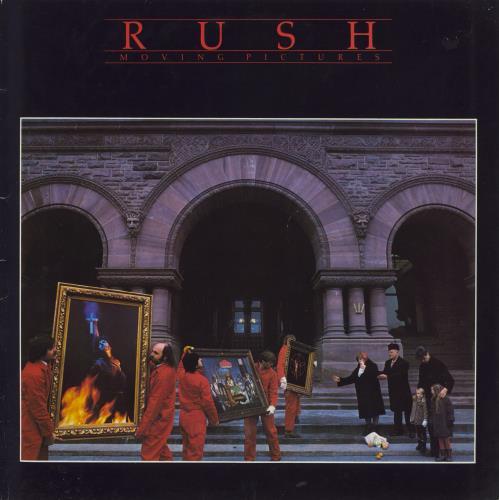 Rush Moving Pictures - EX vinyl LP album (LP record) UK RUSLPMO634791