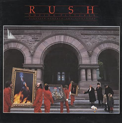 Rush Moving Pictures 1981 tour programme UK RUSTRMO124883