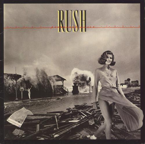 Rush Permanent Waves - mid 80s - EX vinyl LP album (LP record) UK RUSLPPE714844