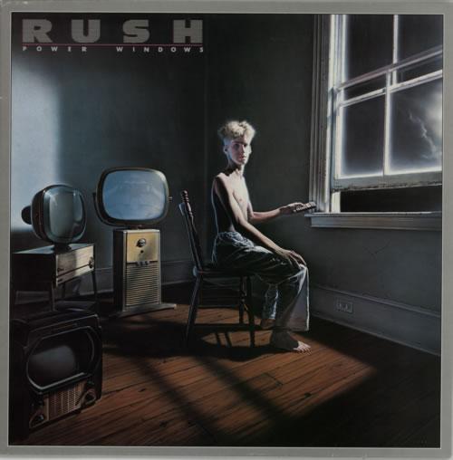 Rush Power Windows vinyl LP album (LP record) UK RUSLPPO291047