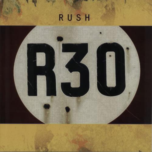 Rush R30 + Stub tour programme UK RUSTRRS589273