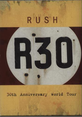 Rush R30 DVD UK RUSDDR342625