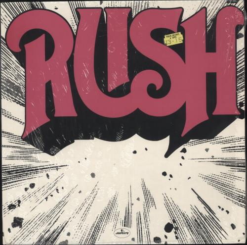 Rush Rush - 1st - shrink vinyl LP album (LP record) UK RUSLPRU724779