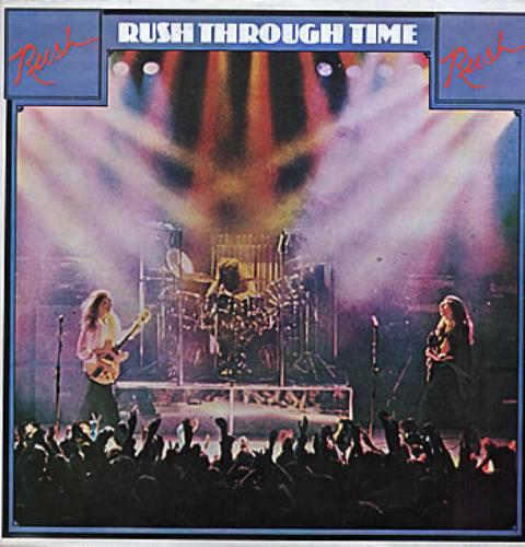 Rush Rush Through Time Colombian Vinyl Lp Album Lp Record