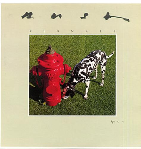 Rush Signals - EX vinyl LP album (LP record) UK RUSLPSI104239