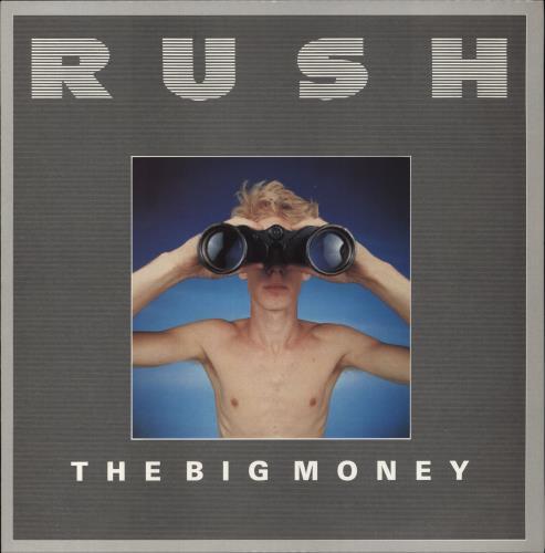 "Rush The Big Money 12"" vinyl single (12 inch record / Maxi-single) UK RUS12TH01180"