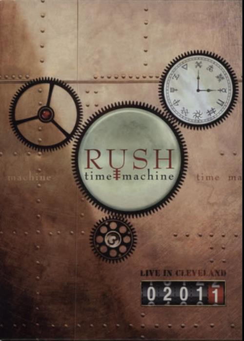 Rush Time Machine - Live In Cleveland 2011 DVD US RUSDDTI624315