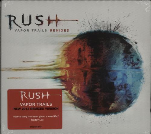Rush Vapor Trails - Remixed CD album (CDLP) UK RUSCDVA682353