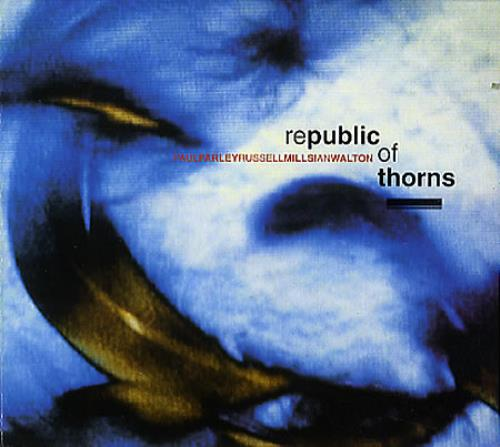 Russell Mills Republic Of Thorns CD album (CDLP) UK RSLCDRE349682