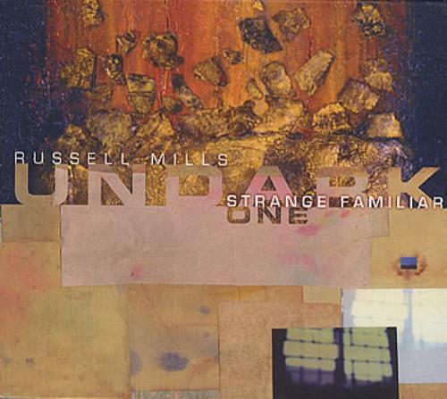 Russell Mills Strange Familiar CD album (CDLP) UK RSLCDST363516