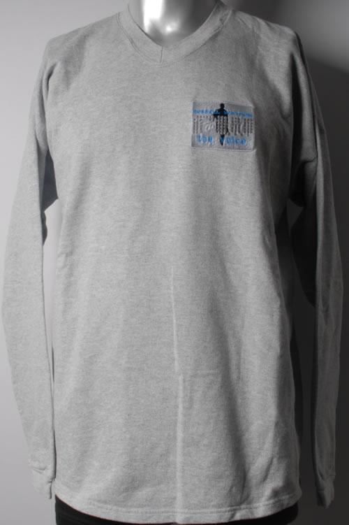 Russell Watson The Voice - Grey Long Sleeve T-Shirt t-shirt UK RUWTSTH593700