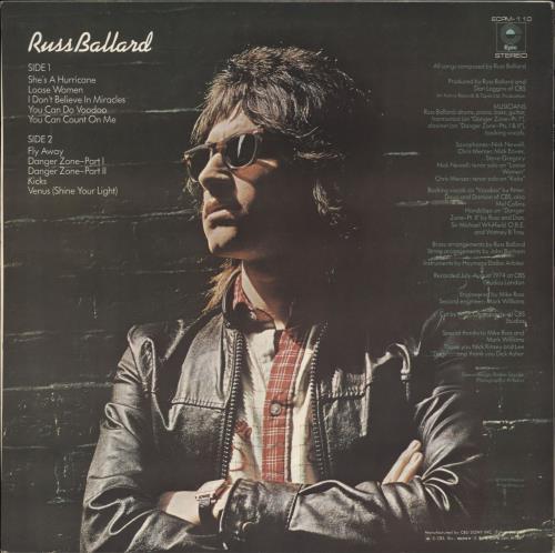 Russ Ballard Russ Ballard vinyl LP album (LP record) Japanese RBALPRU732579