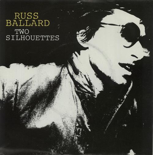 "Russ Ballard Two Silhouettes 7"" vinyl single (7 inch record) Dutch RBA07TW625595"