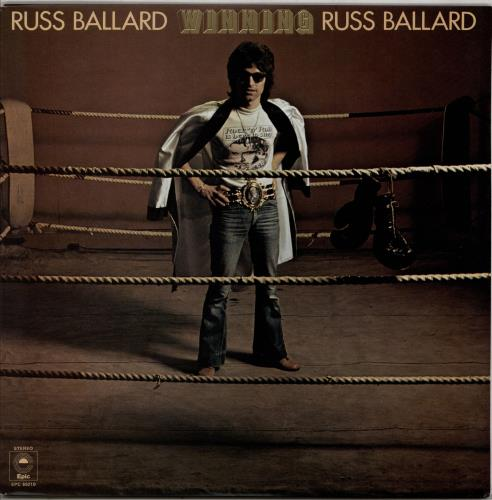 Russ Ballard Winning vinyl LP album (LP record) UK RBALPWI765032
