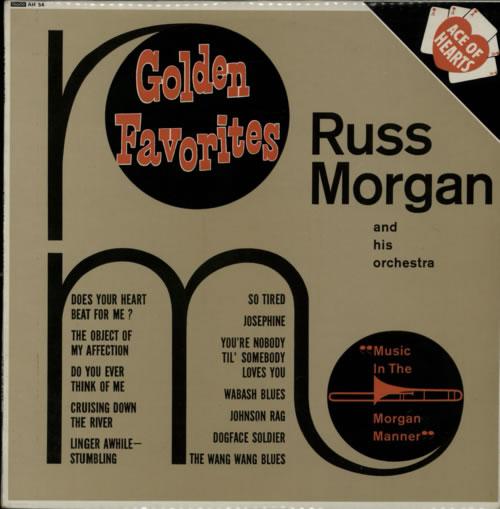 Russ Morgan Music In The Morgan Manner vinyl LP album (LP record) UK R97LPMU608105
