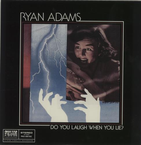 """Ryan Adams Do You Laugh When You Lie? 7"""" vinyl single (7 inch record) US YAA07DO680360"""