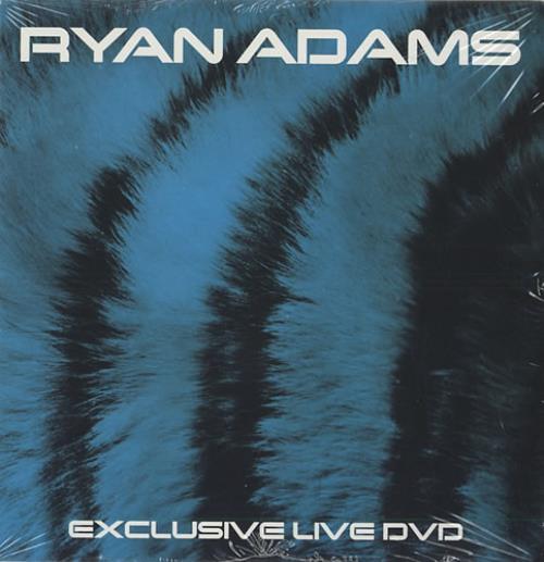 Ryan Adams Exclusive Live DVD DVD Single US YAADSEX440326
