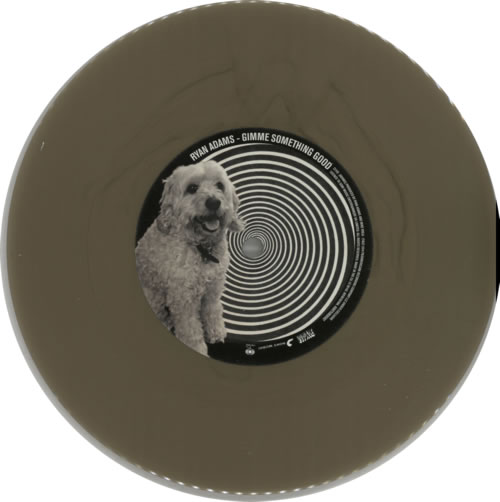 "Ryan Adams Gimme Something Good - Gold Vinyl 7"" vinyl single (7 inch record) UK YAA07GI612388"