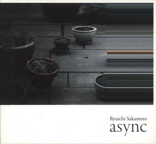 Ryuichi Sakamoto Async CD album (CDLP) French RYUCDAS743281