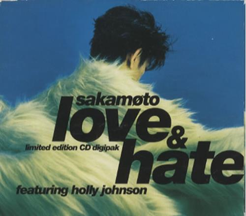 "Ryuichi Sakamoto Love & Hate - Digipak CD single (CD5 / 5"") UK RYUC5LO57203"