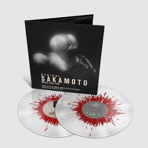 Ryuichi Sakamoto Music For Film - Splatter Vinyl 2-LP vinyl record set (Double Album) UK RYU2LMU760621