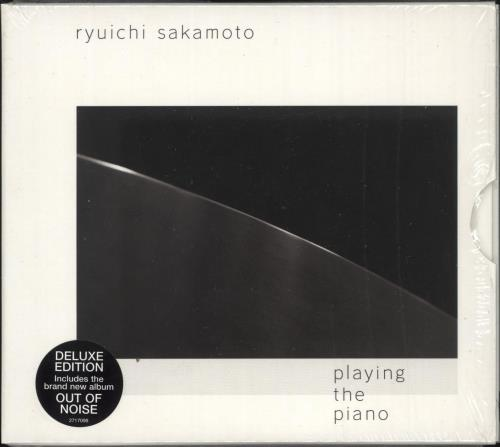 Ryuichi Sakamoto Playing The Piano - Deluxe Edition 2 CD album set (Double CD) UK RYU2CPL744705