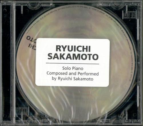 Ryuichi Sakamoto Solo Piano - The BTTB Sessions - Sealed CD album (CDLP) US RYUCDSO506708