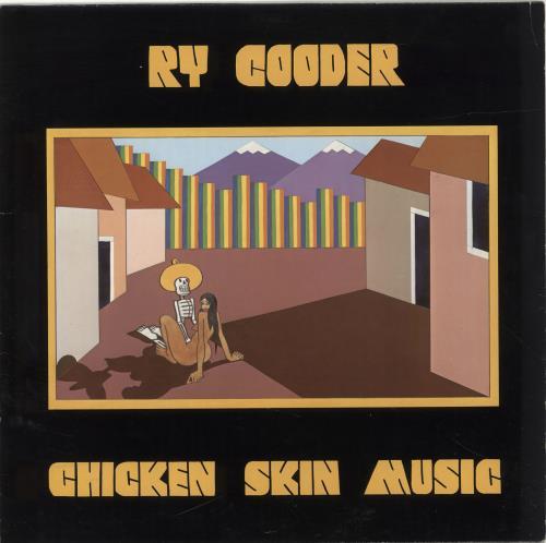 Ry Cooder Chicken Skin Music vinyl LP album (LP record) German RYCLPCH690407
