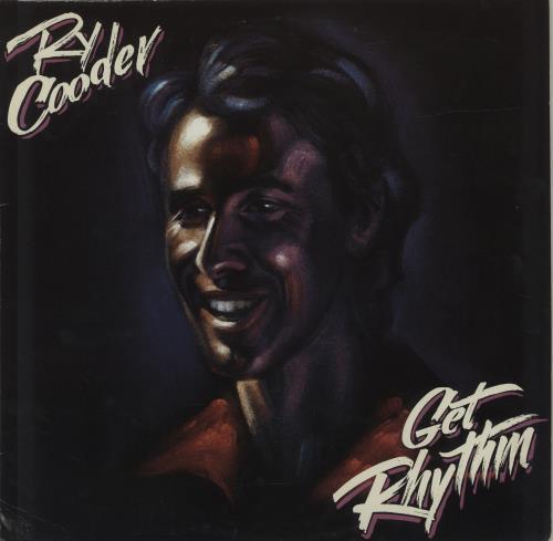 Ry Cooder Get Rhythm vinyl LP album (LP record) German RYCLPGE287991