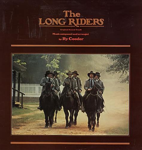 Ry Cooder The Long Riders vinyl LP album (LP record) UK RYCLPTH295752