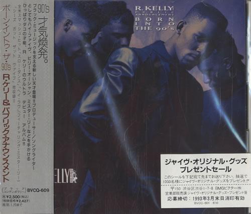 R Kelly Born Into The 90's Japanese Promo CD album (CDLP)