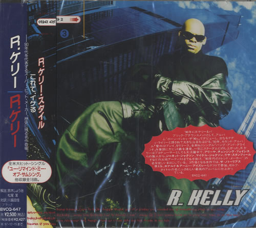 R Kelly R Kelly Japanese Promo CD album (CDLP)