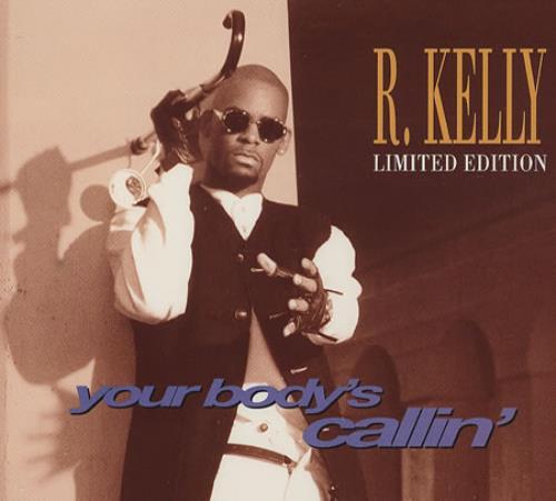 R Kelly Your Body's Callin UK CD single (CD5 / 5