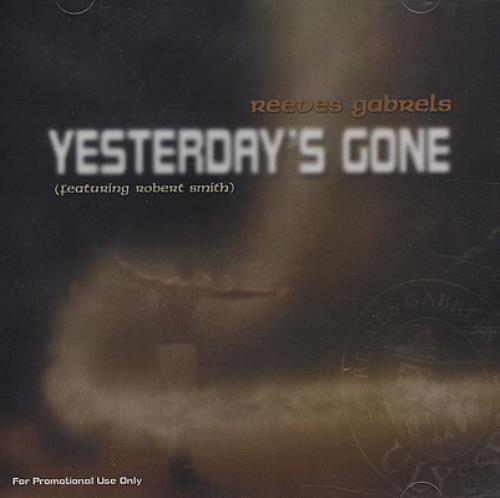 "Reeves Gabrels Yesterday's Gone CD single (CD5 / 5"") US RVGC5YE180729"