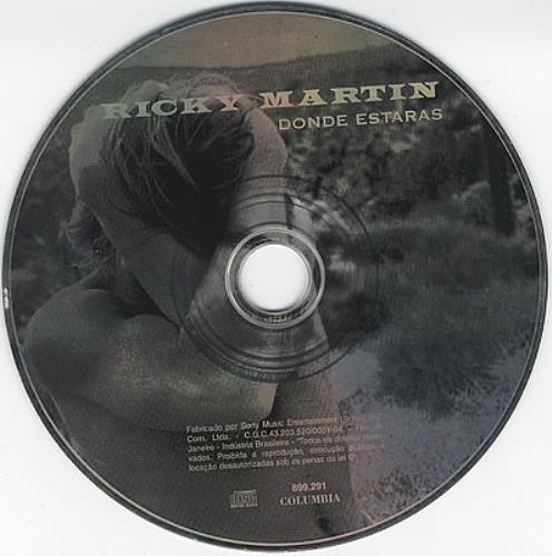 "Ricky Martin Donde Estaras CD single (CD5 / 5"") Brazilian RKMC5DO196090"