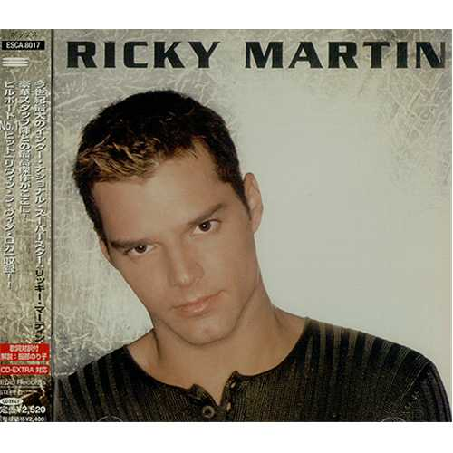 ricky martin ricky martin japanese cd album cdlp 142888