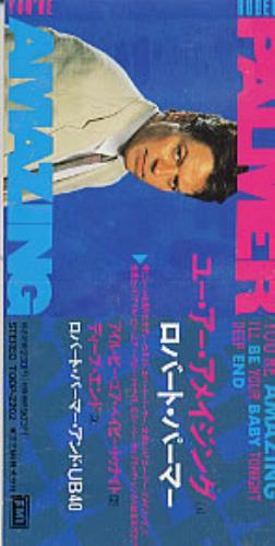 "Robert Palmer You're Amazing 3"" CD single (CD3) Japanese PLMC3YO220880"