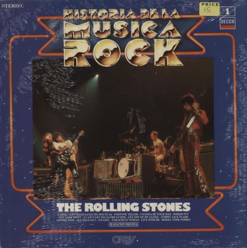 Rolling Stones Historia De La Musica Rock Sealed Spanish