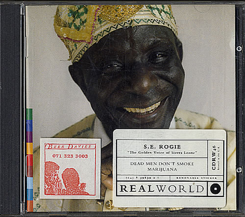 S.E. Rogie Dead Men Don't Smoke Marijuana CD album (CDLP) US UCGCDDE621683