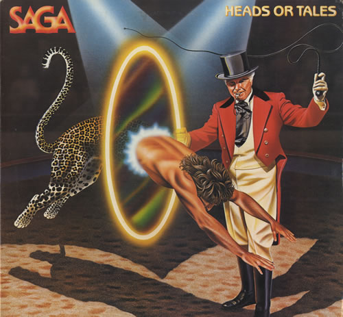 Saga Heads Or Tails vinyl LP album (LP record) US SG-LPHE564920