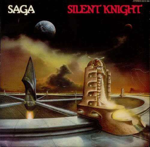 Saga Silent Knight vinyl LP album (LP record) UK SG-LPSI547505