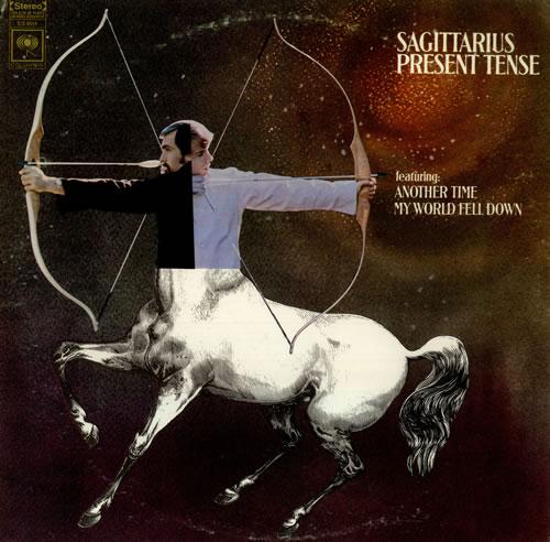 Sagittarius Present Tense Us Vinyl Lp Album Lp Record
