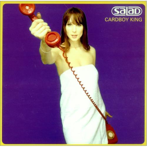 """Salad Cardboy King 7"""" vinyl single (7 inch record) UK SAA07CA424389"""